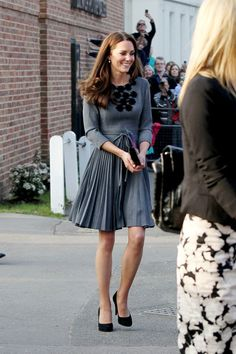 Kate - gotta love her exquisite taste in style!
