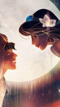 iphone wallpaper disney New iPhone Wallpaper Disney Fan Art, Disney Princess Art, Disney Artwork, Disney Drawings, Aladdin Princess, Flame Princess, Princess Aurora, Disney Jasmine, Aladdin Et Jasmine