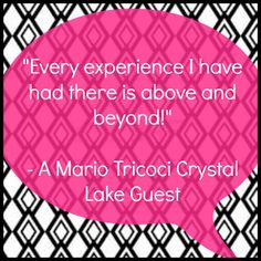 """Mario Tricoci Hair Salons & Day Spas is our name. """"Above and beyond experiences"""" is our game. Not officially, but, it certainly could be! #TricociCareers #SalonCareers #SpaCareers"""
