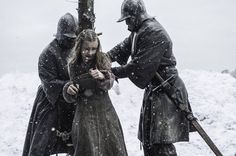 Kerry Ingram as Shireen Baratheon in 'Game of Thrones' Season 5, Episode 9 — 'The Dance of Dragons'Shireen Baratheon suffered a death by fire in 'Game of Thrones' Season 5, Episode 9 — 'The Dance of Dragons,' which her father consented to after Melisandre said it would please the Lord of Light.