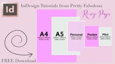 Resize pages in indesign Graphic Design Tips, Adobe Indesign, Learn To Draw, Business Design, Bar Chart, Youtube, Bullet Journals, Free, Planners