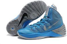 Nike Hyperdunks Women Blue Black Grey