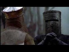 """Monty Python- The Black Knight Fight ~ When it comes down to good old humor you can't forget the Black Knight fight scene from """" Monty Python and The Holy Grail """""""
