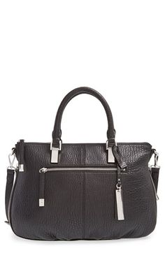 Vince Camuto 'Medium Riley' Leather Satchel available at #Nordstrom