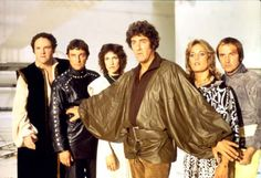 """""""Blake's Seven"""". British sci-fi show that aired from 1978-1981. Complex plots and cool special effects made this not-your-average sci-fi show."""