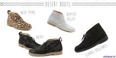 Desert boots | Ontdek in deze blog alle trends in schoenen, dan stap jij hip de herfst in.