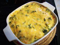 Cheesy Broccoli Casserole (Medifast Recipe)
