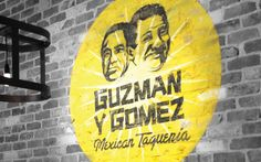Guzman Y Gomez Typeface by Leyla Muratovic, via Behance