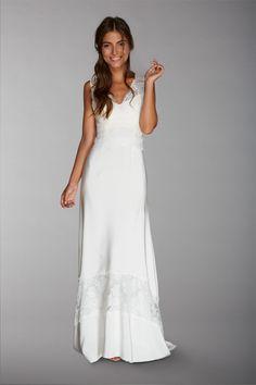 Les robes de mariée de Fabienne Alagama - Collection 2016 | Modèle : Kate | Crédits : Fabienne Alagama | Donne-moi ta main - Blog mariage