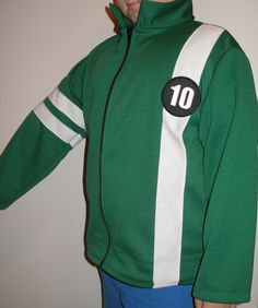 New Ben 10 Knit Jacket With Zipper