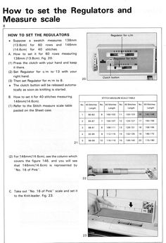 Using the Brother knitleader: some tips Brother Knitting Machine, Hand Knitting, Swatch, Tips, Crocheting, Counseling