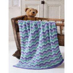 Free Easy Blanket Knit Pattern