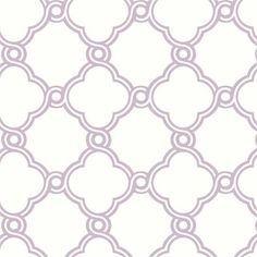 @rosenberryrooms is offering $20 OFF your purchase! Share the news and save!  Lilac Open Trellis Wallpaper #rosenberryrooms