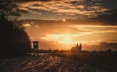 Winter Sunset, Austria, Celestial, Outdoor, Outdoors, Outdoor Games, The Great Outdoors