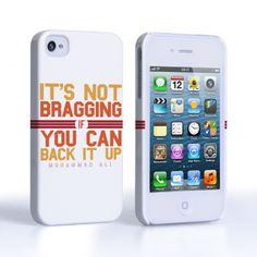 Caseflex iPhone 4 / 4s Muhammad Ali Quote Case   Mobile Madhouse #Apple #AppleiPhone4 #iPhone4 #iPhone #Case #Cover #HardCase #PhoneCover #Quote #Muhammad #Ali #Inspiration #Boxing  #Gift #Present