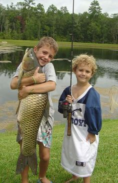 Fishing The Wilds of St Augustine Florida - A Boy & His Fish.  lol