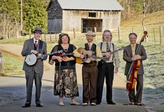 Monroe Crossing at Silver Dollar City during Bluegrass & BBQ Festival 2012