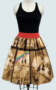I came across this cute Wizard of Oz women's dress in 1950s cocktail style from etsy