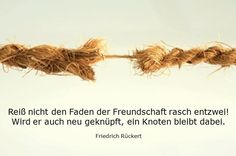 Freundschaft #Friedrich #Rückert