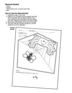 Sammy's Spider Surprise, Lesson Plans - The Mailbox