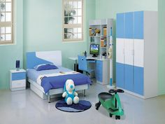 Kids Bedroom Blue kids bedroom design ideas | home designs 2 | pinterest | bedrooms
