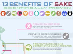 Is Sake healthy?Is Sake good for you? Yes, there are a number of Sake health benefits. But we've realized fewwebsites or books teach Sake health benefits with enough credibility – only a few of them are scientifically proved or backed up by references.  How reliable are those myths? We become very sensitive and sceptical when it
