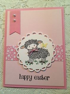 Easter Lamb by DancinFeet - Cards and Paper Crafts at Splitcoaststampers