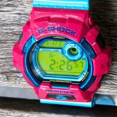 #gshock #neon #watches #casio