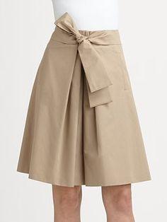 BOSS Black - Bow-Waist Skirt
