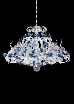 Classic chandelier / Murano glass CH1313/16MA PATAVIUMART