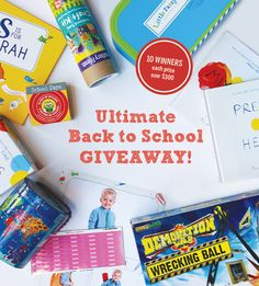 The Ultimate Back to School Giveaway 10 winners Over $3,000 in prizes AD UltimateBTS