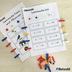 Was man mit Colorclips so alles machen kann? Z.B. Rechenaufgaben, Lesen lernen, Klassendienst einteilen, Gruppeneinteilung… Die Colorclips eignen sich auch zum Üben und Wiederholen von Rechenaufgaben oder zum Lesen lernen auf Lernkarteien. Die Lösungen sind auf der Rückseite der Lernkartei, sodass sich jeder Schüler selber kontrollieren kann.⠀ Wie motiviert Ihr Eure Schüler etwas zu Wiederholen und zu Üben?⠀ ⠀ #betzold #wäscheklammern #colorclips #klammern #lernkarten #Bildungsprofis…