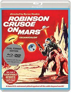 Robinson Crusoe on Mars - Blu-Ray/DVD (Eureka Entertainment Region B/2) Release Date: November 23, 2015 (Amazon U.K.)