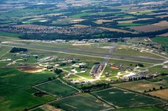 Twin Bases of RAF Bentwater / RAF Woodbridge.  England.  Bentwaters is where I was working, both C-130 & A-10 Fuel Systems.