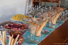 Estação Ceviche Summer Style de peixe branco com tomatinhos grape marinados no siciliano - Captains Buffet