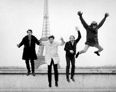 The Beach Boys in Paris in 1964