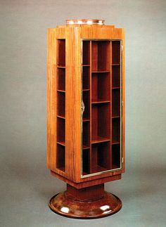 art deco design bookcase bk104 POLLARO. @Deidra Brocké Wallace