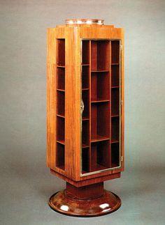 art deco design bookcase bk104 POLLARO. @Deidra Brocké Wallace