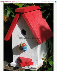 20% OFF TODAY Rustic Birdhouse, Primitive Birdhouse, Chalet Birdhouse, Nautical Birdhouse, Beach Birdhouse
