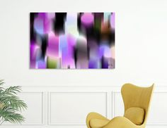 Discover «Purple light», Limited Edition Canvas Print by Mirella Pavesi - From 55€ - Curioos
