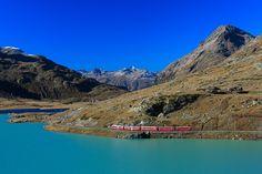 Schweiz Bei diesen Hotels ist schon die Anreise spektakulär