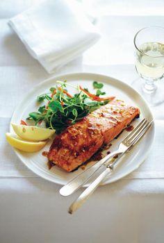 Honey & Vanilla Glazed Salmon