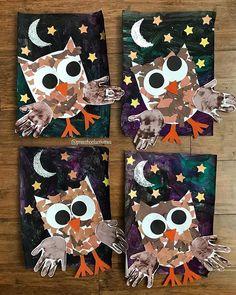 Fall kids crafts 34 Best Fall Crafts for Preschoolers Ideas to Add Your Classroom Activity Bra Sizes Owl Preschool, Kindergarten Crafts, Daycare Crafts, Classroom Crafts, Teaching Kindergarten, Autumn Crafts, Halloween Crafts For Kids, Halloween Theme Preschool, Fall Crafts For Toddlers