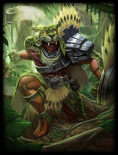Xbalanque Jungle Beast Skin (Smite)