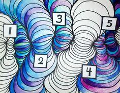 Great Op Art Lesson!  --Art With Mr. E: Line Design