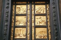 The east door of the Baptistry by Ghiberti | Things to See in Florence, Italy
