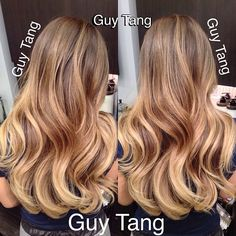 Natural looking balayage ombre, not too warm not to cool... just perfect