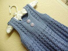 Neu Stricken Girls Knitted Dresses for Girls Knitting Wool, Knitting For Kids, Baby Knitting Patterns, Baby Patterns, Free Knitting, Crochet Baby, Knit Crochet, Diy Crafts Knitting, Girls Knitted Dress