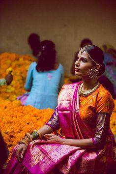 Pink Orange: Gaurang: Pinned by Sujayita
