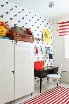 eclectic kids' rooms designs